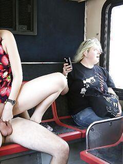 Aria Alexander занялась сексом с партнером в общественном транспорте | порно фото бесплатно на gig-photo.ru
